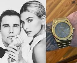 Justin Bieber nie oszczędzał na ślubnej biżuterii. Cena jego zegarka ZWALA Z NÓG