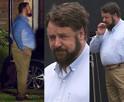 Russell Crowe w coraz gorszej formie? Najnowsze zdjęcia aktora wzbudzają niepokój wśród fanów (FOTO)