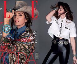 """Wiecznie młoda Cindy Crawford pozuje w kapeluszu dla """"Elle Italia"""""""