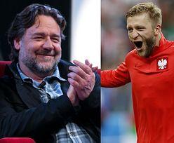 """Russell Crowe gratuluje Błaszczykowskiemu: """"KUBA! DO BOJU POLSKA!"""""""