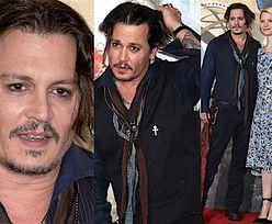 Zaniedbany Johnny Depp na londyńskiej premierze (ZDJĘCIA)
