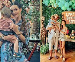 """Marina chwali się przyjęciem urodzinowym synka w stylu safari. Fanka: """"Wymarzona impreza Liamka czy mamy?"""". Odpowiedziała"""