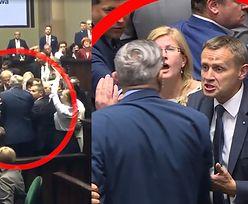 Tomasz Lenz uderzył w Sejmie posła PiS? (WIDEO)