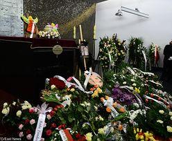 Olbrychski, Stalińska i Biedrzyńska na pogrzebie Krystyny Sienkiewicz (ZDJĘCIA)