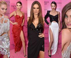 Modelki Victoria's Secret na różowym dywanie: Bella Hadid, Alessandra Ambrosio, Adriana Lima... (ZDJĘCIA)