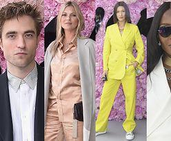 Gwiazdy i modelki bawią się na pokazie Diora: Pattinson, Allen, Moss, Hadid, Campbell... (ZDJĘCIA)