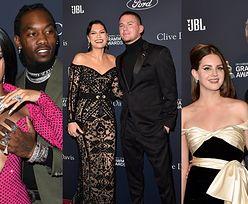 Hollywoodzka śmietanka bryluje na imprezie Pre-Grammy: eksponująca biust Cardi B, zakochani Jessie J i Channing Tatum, Lana Del Rey z chłopakiem (ZDJĘCIA)