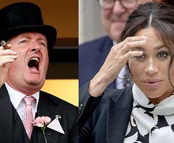 """Piers Morgan grzmi na wieść o książce Meghan Markle o relacjach ojciec-dziecko: """"GIGANTYCZNA HIPOKRYZJA!"""""""