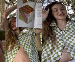 """Naturalna Gigi Hadid eksponuje brzuch pierwszy raz od ogłoszenia ciąży: """"Nie chcę się martwić, że cały czas muszę WYGLĄDAĆ ŚWIETNIE"""" (FOTO)"""
