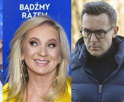 Katarzyna Cichopek i Maciej Kurzajewski WSPIERAJĄ Marzenę Rogalską po odejściu z TVP