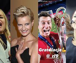"""Gwiazdy rozpływają się nad Robertem Lewandowskim po wygranej w Lidze Mistrzów: """"SZACUNEK I DUMA"""" (ZDJĘCIA)"""