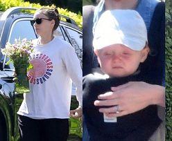 CIĘŻARNA (?) Rooney Mara z bukietem kwiatów odwiedza siostrę na Dzień Matki (ZDJĘCIA)