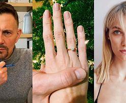 """Krzysztof Ibisz kupił o połowę młodszej narzeczonej ZA DUŻY pierścionek: """"Lepiej kupić rozmiar większy niż myślimy"""""""
