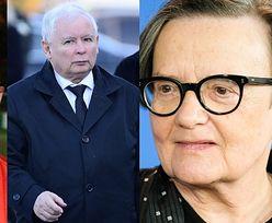 """Agnieszka Holland i Jurek Owsiak popierają słowa Janusza Gajosa. """"Mały człowiek podzielił nasz kraj na dwie części. TO JEST ZBRODNIA"""""""