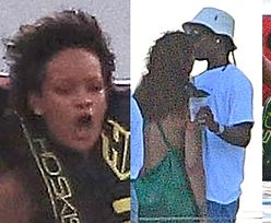 Rihanna wyławia ASAP Rocky'ego z otchłani Atlantyku podczas wodnego szaleństwa na Barbadosie (ZDJĘCIA)