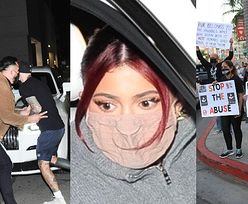 Kylie Jenner została OSACZONA przez przeciwników noszenia futer! (ZDJĘCIA)