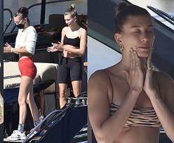 Przepracowane Bella Hadid i Hailey Bieber odpoczywają na luksusowym jachcie u wybrzeża Sardynii (ZDJĘCIA)