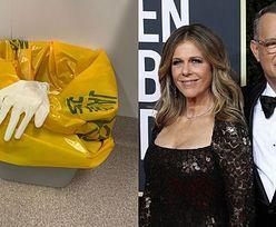 Tom Hanks i Rita Wilson zakażeni koronawirusem. Fani na zdjęciu ze szpitala dopatrują się ukrytego przekazu... (FOTO)