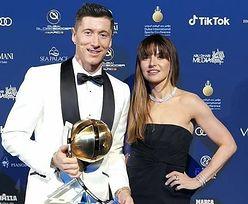Robert Lewandowski i Anna Lewandowska zadają szyku u boku Cristiano Ronaldo w kreacjach za SETKI TYSIĘCY (ZDJĘCIA)