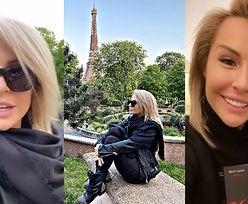 """Blanka Lipińska pozdrawia z luksusowego hotelu w Paryżu: """"Przyjechałam promować moją powieść"""""""