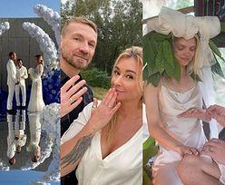 Najgłośniejsze śluby gwiazd w 2020 roku: greckie wesele Przetakiewicz i Rooyensa, skromny ślub Lary Gessler, szamańska ceremonia Margaret (ZDJĘCIA)