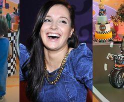 Pomysłowa Marina Łuczenko świętuje urodziny Liama DEKORACJAMI Z JEGO PODOBIZNĄ (FOTO)