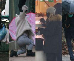 Święta u Tusków: Donald spaceruje z wnuczką, Małgorzata z siatami (ZDJĘCIA)