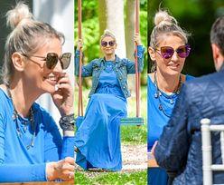 Zakochana Dominika Tajner chwali się CHŁOPAKIEM na ustawce z paparazzi (ZDJĘCIA)