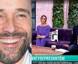 """Łukasz Nowicki ogłasza w """"PnŚ"""" sposób na WALKĘ Z DEPRESJĄ: """"Oglądajcie """"Pytanie na śniadanie""""!"""""""