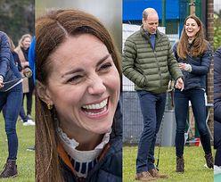 Ubawieni Kate Middleton i książę William prezentują swoje marne umiejętności gry w golfa dwa dni przed 10. rocznicą ślubu (ZDJĘCIA)