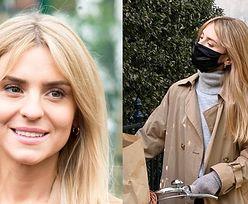 """Kasia Tusk nosi maseczkę za PONAD 100 ZŁOTYCH! """"Wyściełana podwójnie miękką satyną jedwabną z włoskiej prowincji Como"""""""