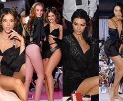 Aniołki Victoria's Secret prezentują swoje wdzięki i posyłają buziaczki w oczekiwaniu na pokaz (ZDJĘCIA)