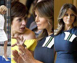 Brigitte vs Melania na szczycie NATO. Która wypadła lepiej? (ZDJĘCIA)