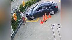 Moment nieuwagi w Brazylii. Zuchwała kradzież z samochodu