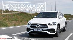 Mercedes-Benz GLA 200 1.3 163 KM (AT) - przyspieszenie 0-100 km/h