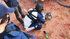 Cenny kosmiczny ładunek wylądował na australijskiej pustyni