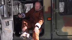 Władimir Putin podczas relaksu. Prezydent pośród syberyjskiej tajgi