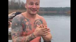 """#dziejesiewsporcie: Artur Szpilka zaszalał podczas morsowania. """"Wariat"""", """"To się nie dzieje!"""""""
