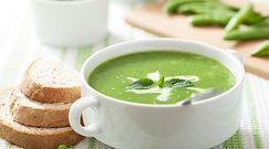 Prosty przepis na zupę krem z zielonego groszku