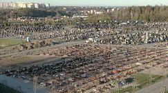 """Cmentarze zapełniają się coraz szybciej. """"Słyszałem, że w mniejszych miastach jest problem"""""""