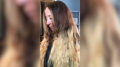 Przez 30 lat nie obcinała włosów