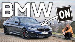 BMW 540d - mam nadzieję, że szybko nie zniknie