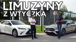 Lexus ES 300h vs Mercedes-Benz E 300 de  - luksus za kropelkę
