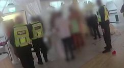 Policja przerwała wesele. Nagranie z Londynu