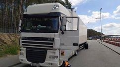 Ciężarówką bez sprawnych hamulców. Inspektorzy z Torunia byli bezwzględni