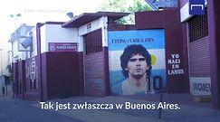 #dziejesiewsporcie: Argentyna nadal w żałobie po śmierci Maradony. Widać to niemal na każdej ulicy