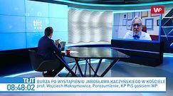 Burza po przemówieniu Jarosława Kaczyńskiego. Wojciech Maksymowicz i Michał Szczerba komentują