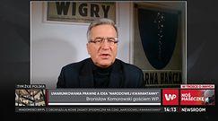 Sylwester 2020. Bronisław Komorowski o godzinie policyjnej: spory bałagan