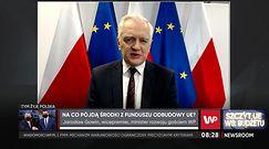 Do Polski popłyną z Unii miliardy. Gowin tłumaczy, na co będą przeznaczone