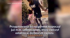 #dziejesiewsporcie: LeBron James trenuje z córką